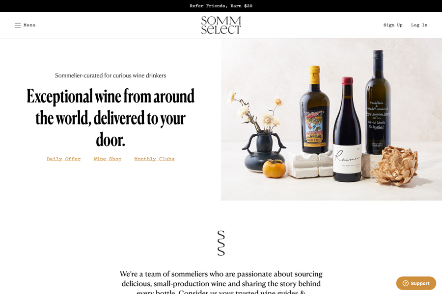 SommSelect - Front End Development